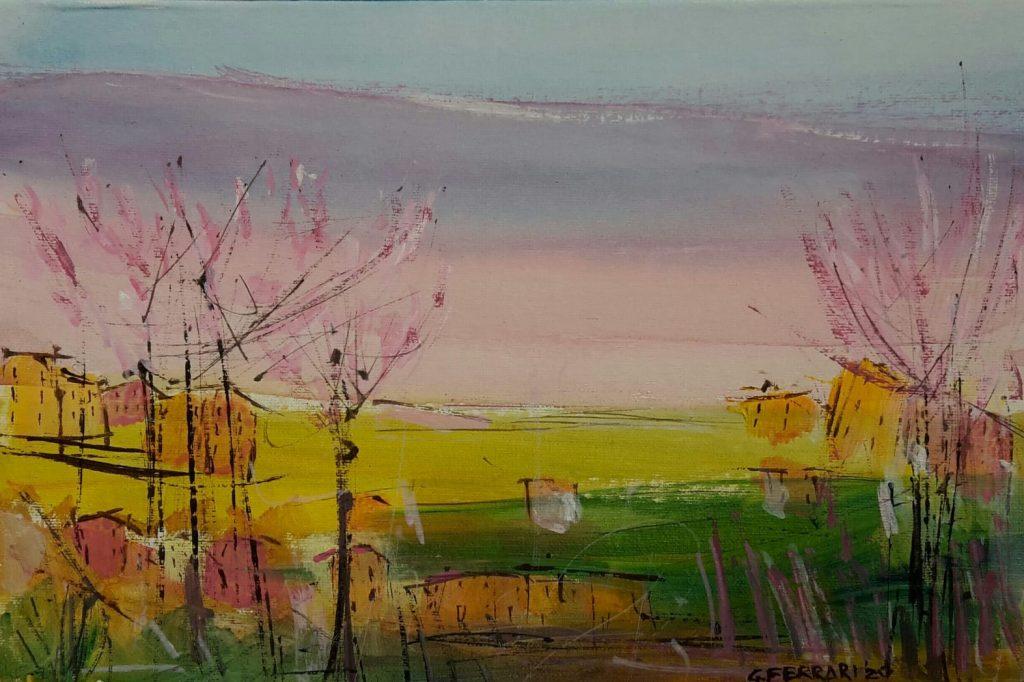 paesaggio rosa
